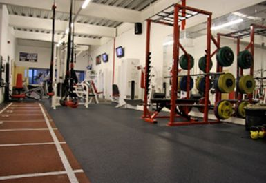 Weights Area at Core Fitness Centre Chester