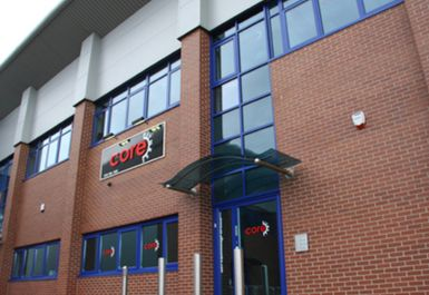 Club Entrance at Core Fitness Centre Chester
