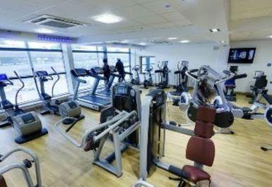 Main Gym Area at Djanogly Community Leisure Centre Nottingham