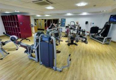 Exercise Machines at Djanogly Community Leisure Centre Nottingham