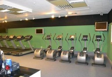 treadmills at Peak Fitness 4 U Motherwell