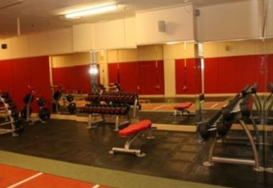 free weights at Peak Fitness 4 U Motherwell