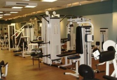 main gym area at Peak Fitness 4 U Motherwell