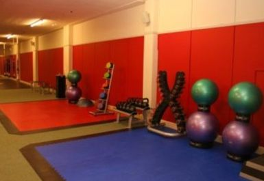 gym mats at Peak Fitness 4 U Motherwell