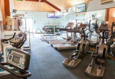 cardio equipment @ Searles Leisure Resort