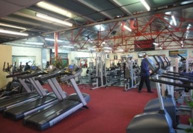 treadmills at Titanium Gym london