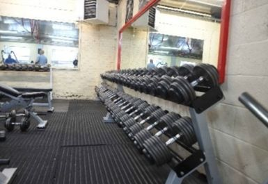 free weights at Titanium Gym london