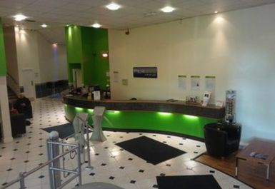 reception at Fit4less by Energie Dundee Town
