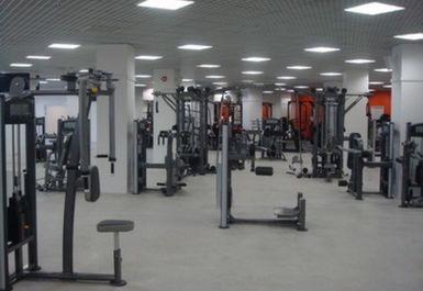 Main Gym Area at Gym4all Basildon