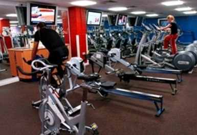 Gym Equipment at All Seasons Leisure Centre Preston