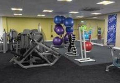 Main Gym Area at All Seasons Leisure Centre Preston