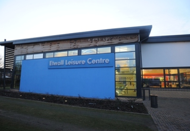 entrance at Etwall Leisure Centre Derby