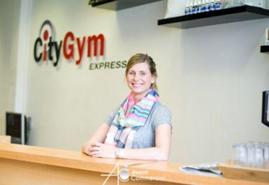 Reception at City Gym Express Eastbourne