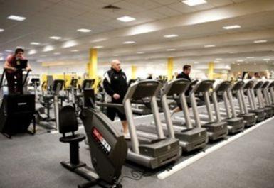 Treadmills at Simply Gym Wrexham