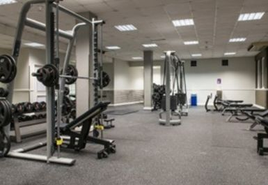 Weights Area at Simply Gym Coventry