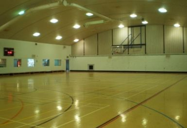 sports hall at Battersea Sports Centre