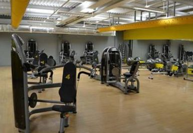 GYM EQUIPMENT AT XERCISE4LESS STOCKTON NORTH