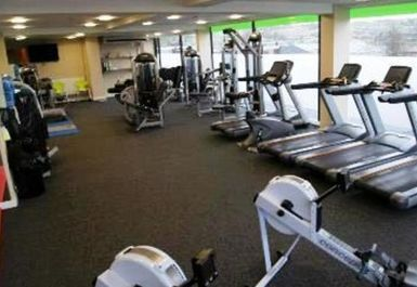 Main Gym Area at Elite Fitness Penrith
