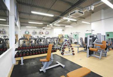 Main Gym Area at YMCA Watford at St Albans