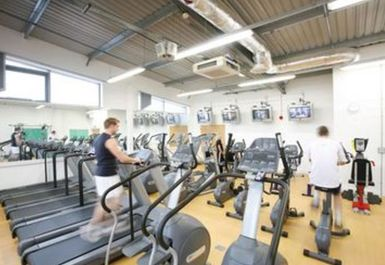 Treadmills at YMCA Watford at St Albans