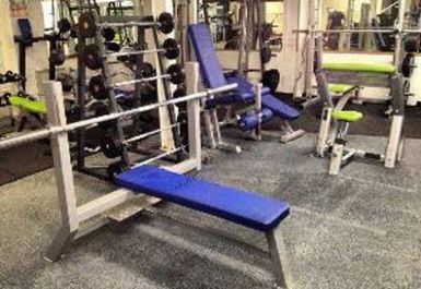 bench press at Zone Fitness Neston