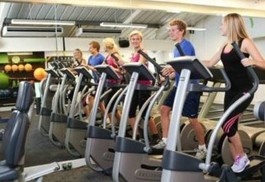 cross trainers at Style Health & Fitness Norwich