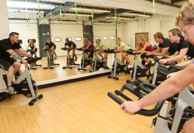spinning at Style Health & Fitness Norwich