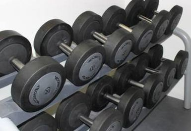 free weights at Style Health & Fitness Norwich