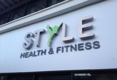 entrance at Style Health & Fitness Norwich