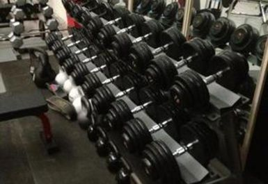 free weights at Elite Fitness Academy Manchester
