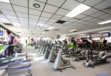 main gym area at Chester Centre at Stretford Sports Village