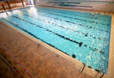 swimming pool at Chester Centre at Stretford Sports Village