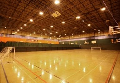 sports hall at Chester Centre at Stretford Sports Village