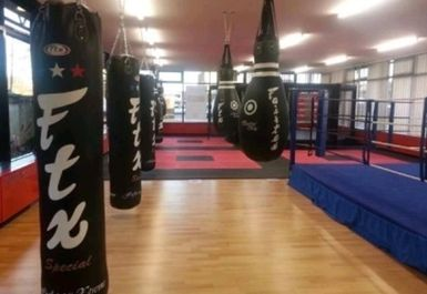 punch bags at Grit Gym Chichester