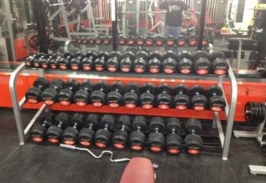free weights at Grit Gym Chichester