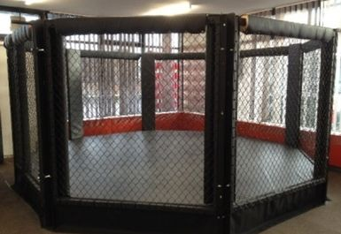 mma octagon cage at Grit Gym Chichester