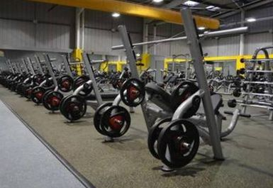 Weights Area at Xercise4Less Rotherham