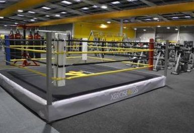 Boxing Ring at Xercise4Less Rotherham