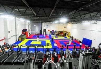 main gym area at Bristol Sports Centre