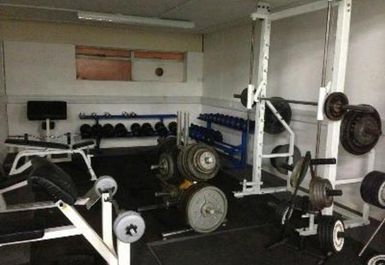 weights at Bristol Sports Centre
