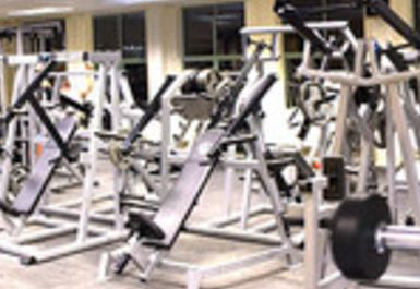 WEIGHTS AREA AT PEAK PHYSIQUE GYM HITCHIN
