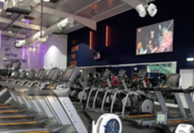 main gym area at i-motion gym Rotherham