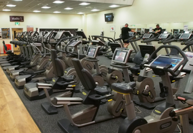 cardio equipment @ Airdrie Leisure Centre