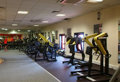 Resistance equipment @ Airdrie Leisure Centre