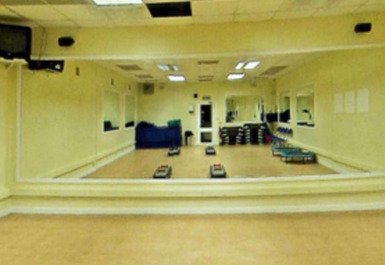 group exercise studio @ Airdrie Leisure Centre