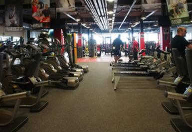 cardio equipment @ Ravenscraig Regional Sports Facility
