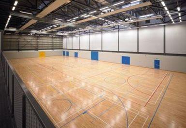 Sports hall @ Ravenscraig Regional Sports Facility