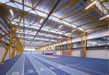 Running track @ Ravenscraig Regional Sports Facility