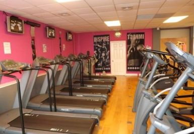 Treadmills at Central Fitness Centre Dudley