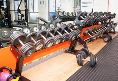 free weights at Gym 212 Halesowen